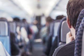 Podcasts hören im Zug