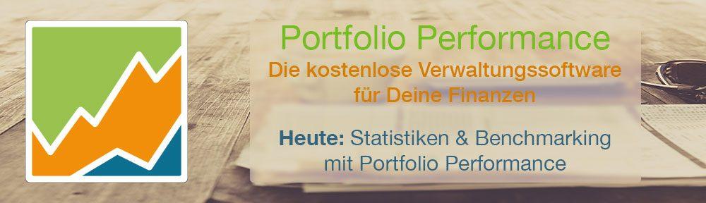 Statistiken & Benchmarking mit Portfolio Performance