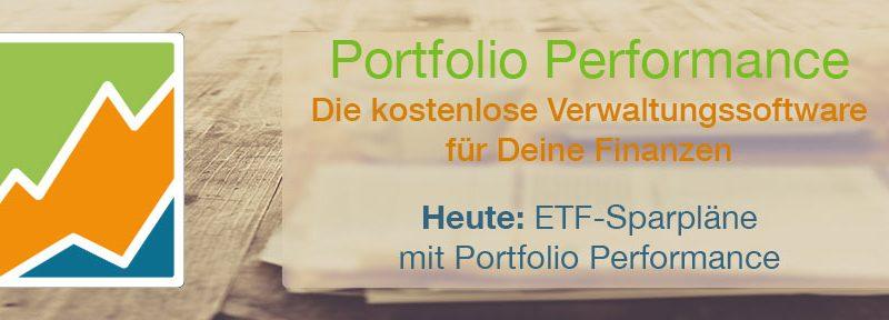 ETF-Sparpläne mit Portfolio Performance