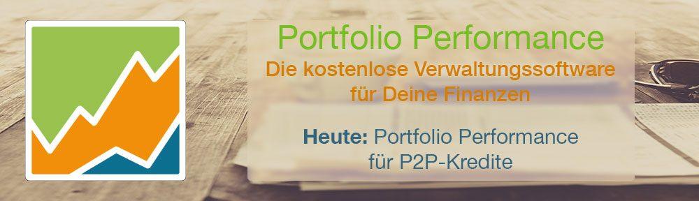 Portfolio Performance für P2P-Kredite