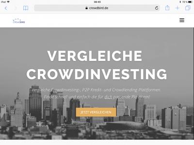 Crowdbird: P2P-Lending-Plattformen einfach vergleichen