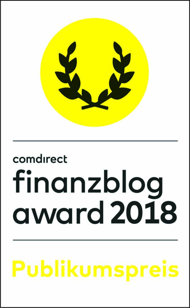 """Deine Stimme für """"Der Finanzfisch"""" – finanzblog award 2018"""