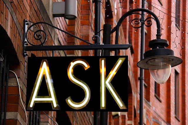 Frag nach Hilfe, wenn du welche brauchst!