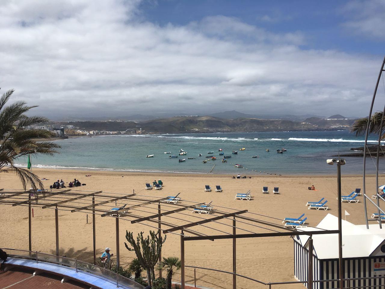 April auf Gran Canaria. Da hat man doch gerne eine Konferenz.