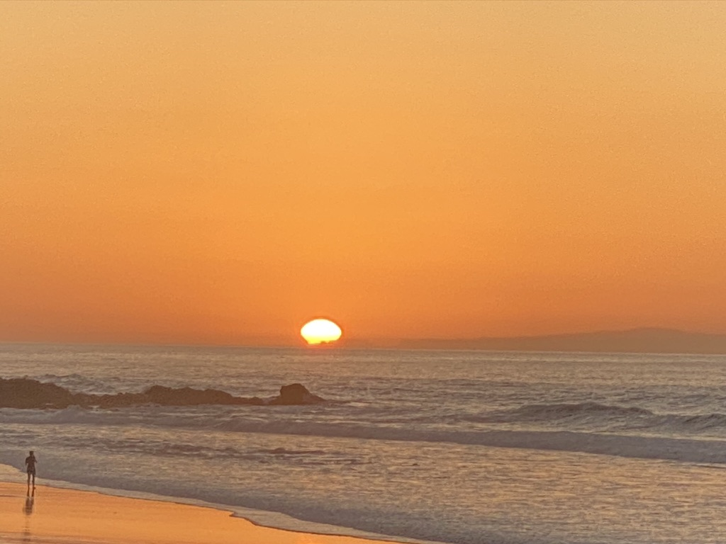 Sonnenuntergang bei La Pared